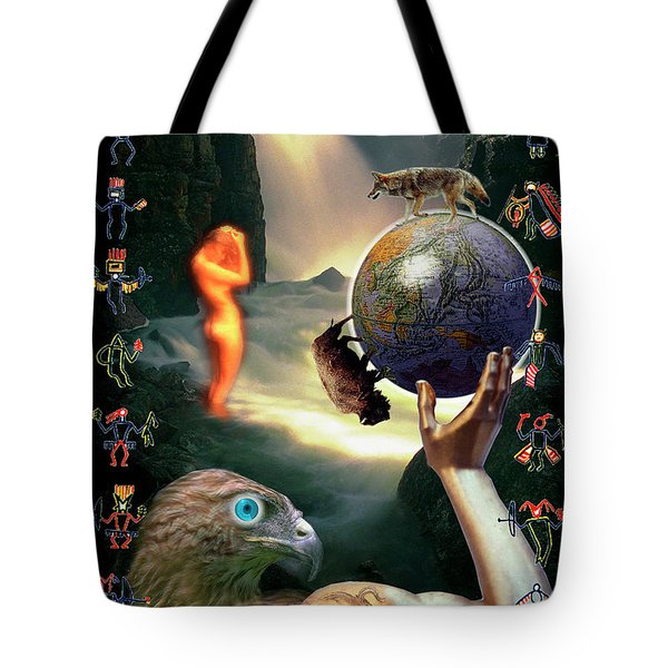 Tote Bag featuring the photograph Mother Nature by Craig J Satterlee
