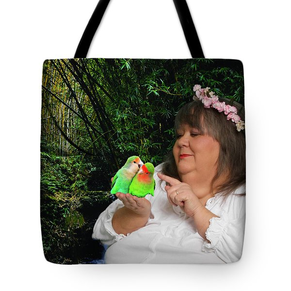 Mother Nature Tote Bag by Robert Hebert