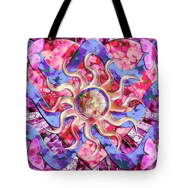 Mother Nature's Love Tote Bag