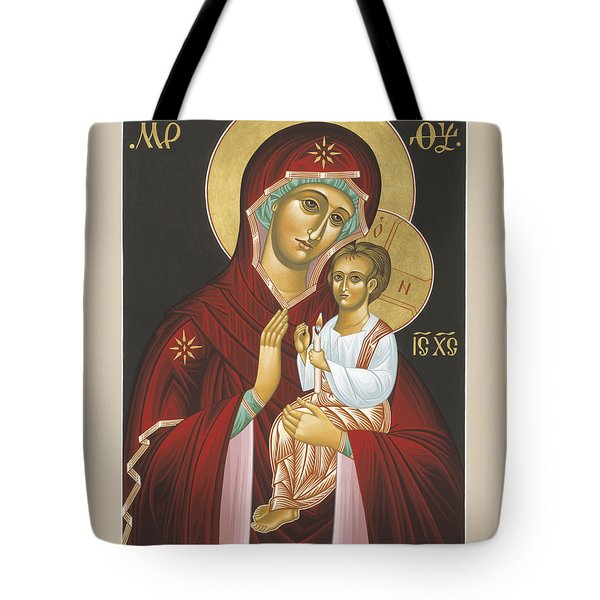 Mother Of God Light In All Darkness 016 Tote Bag
