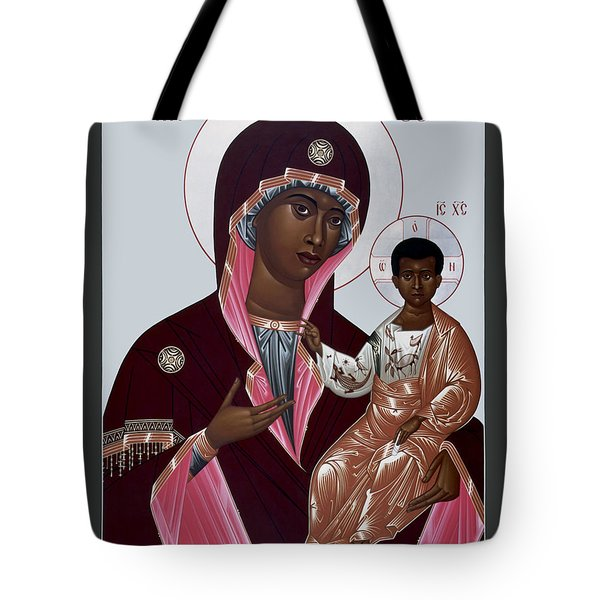 Mother Of God - Protectress Of The Oppressed - Rlpoo Tote Bag