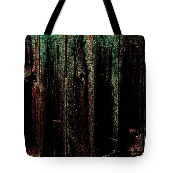 Mother Of Pearl Fence Tote Bag