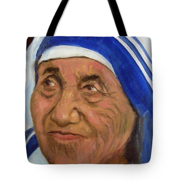 Mother Theresa Tote Bag