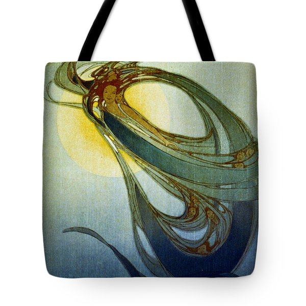 Mother West Wind 1920 Tote Bag by Padre Art