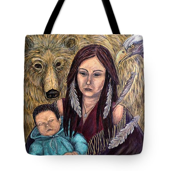 Motherhood-guardian Spirits Tote Bag