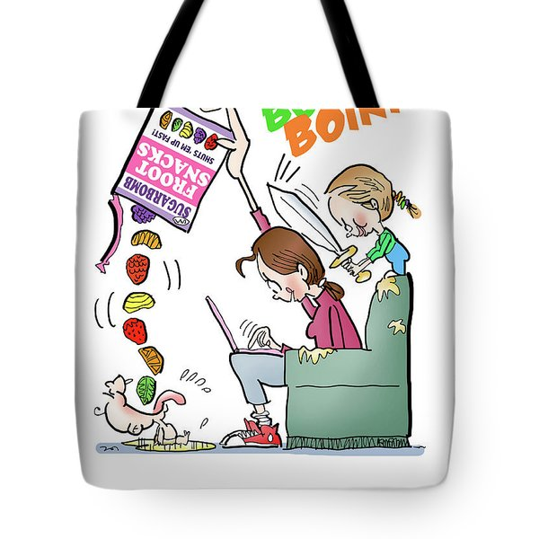 Tote Bag featuring the digital art Motherhood by Mark Armstrong