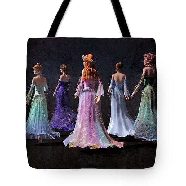 Mothers And Daughters Tote Bag
