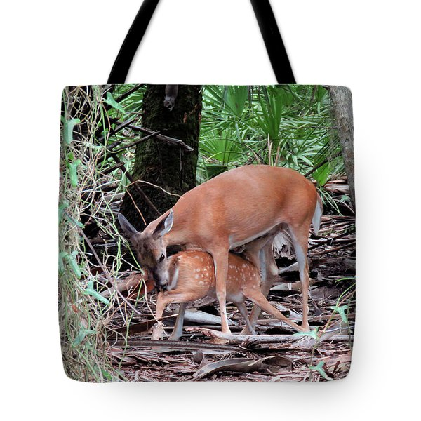 Mother's Care Tote Bag by Rosalie Scanlon