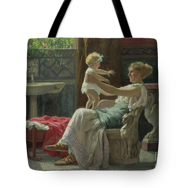 Mother's Darling  Tote Bag by Zocchi Guglielmo