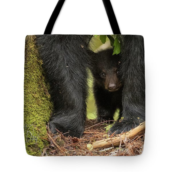 Mothers Day Bear Card Tote Bag