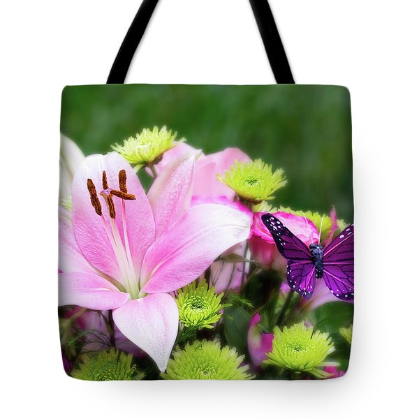 Mother's Day Bouquet  Tote Bag