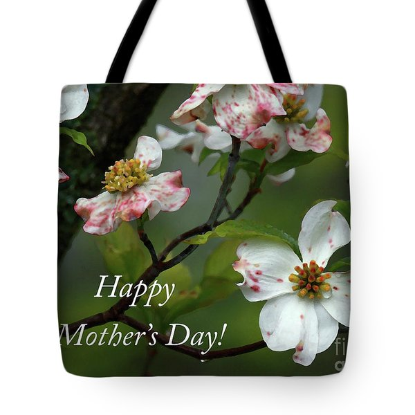 Tote Bag featuring the photograph Mother's Day Dogwood by Douglas Stucky