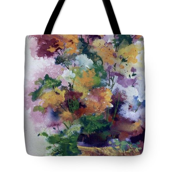 Mother's Day Floral Tote Bag