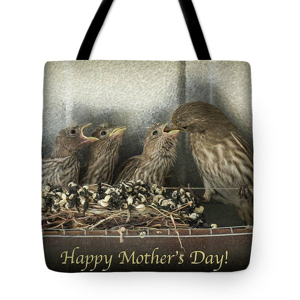 Mother's Day Greetings Tote Bag by Alan Toepfer