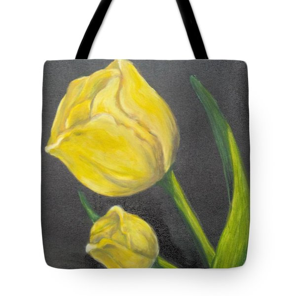 Tote Bag featuring the painting Mother's Day by Saundra Johnson