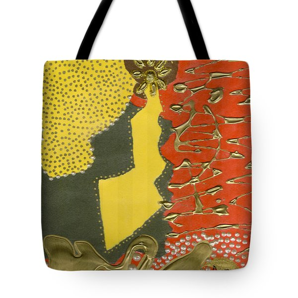 Mother's Earring Tote Bag by Angela L Walker