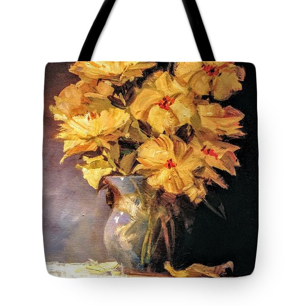 Mother's Favorite Vase Tote Bag
