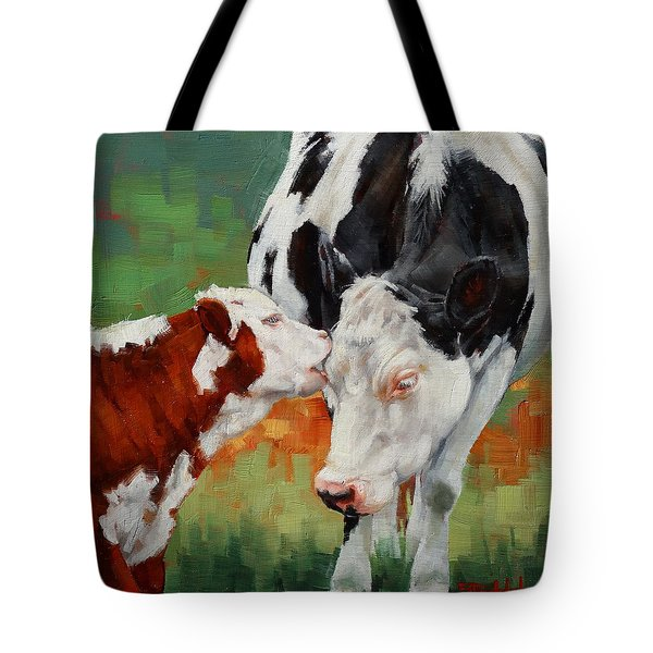 Mothers Little Helper Tote Bag by Margaret Stockdale