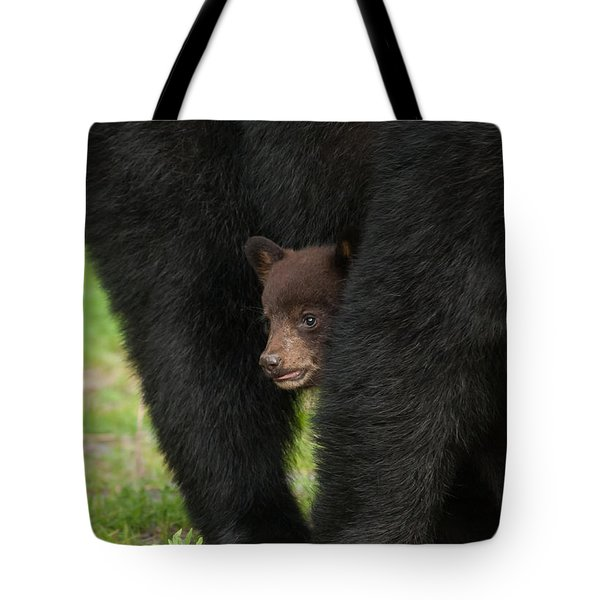 Tote Bag featuring the photograph Mother's Shelter by Joye Ardyn Durham