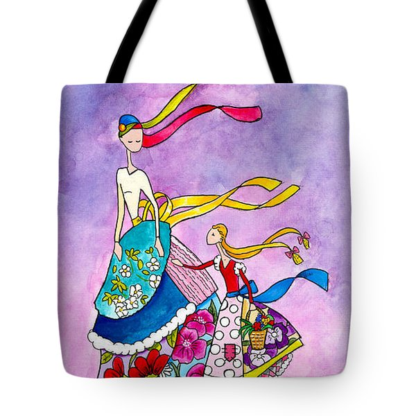 Mother's Shopping Day Tote Bag