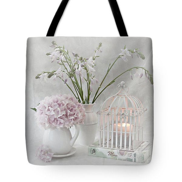 Mother...tell Me Your Memories Tote Bag by Sherry Hallemeier