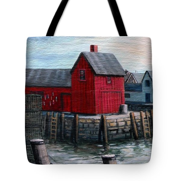 Motif No.1 Tote Bag by Eileen Patten Oliver