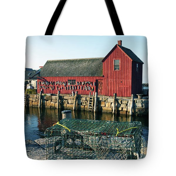 Motif Number One II Rockport Massachusetts Tote Bag