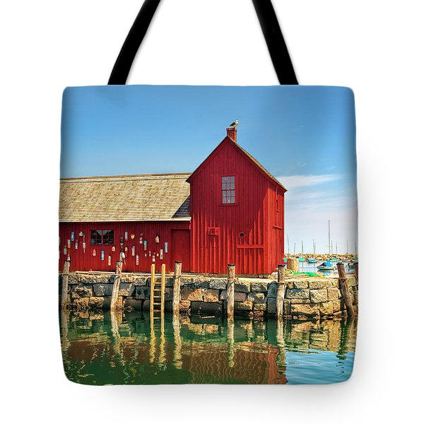 Motif One Tote Bag by Marcia Colelli
