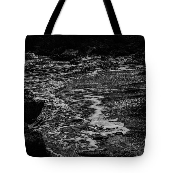 Motion In Black And White Tote Bag