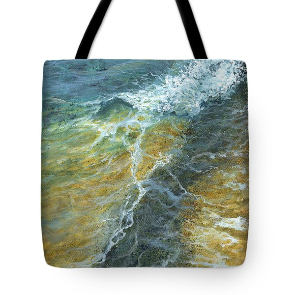 Tote Bag featuring the painting Motion Of The Ocean by Darice Machel McGuire