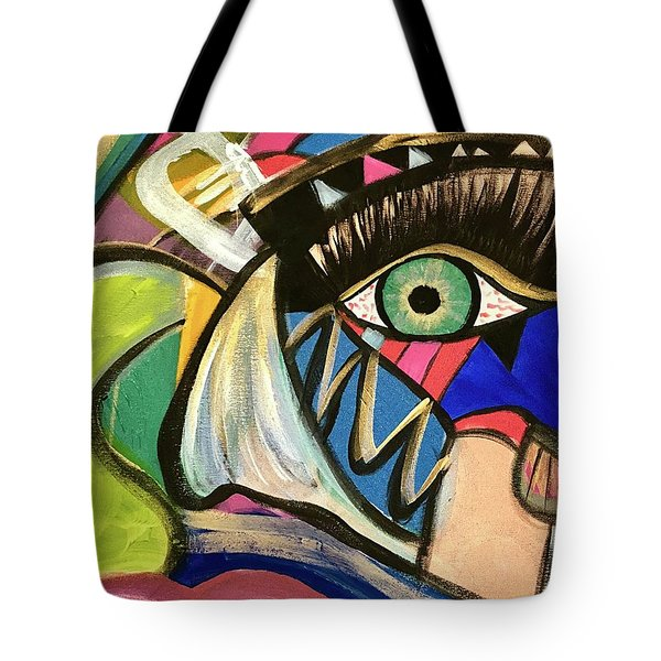 Motley Eye 3 Tote Bag