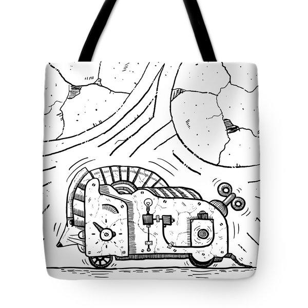 Moto Mouse Tote Bag