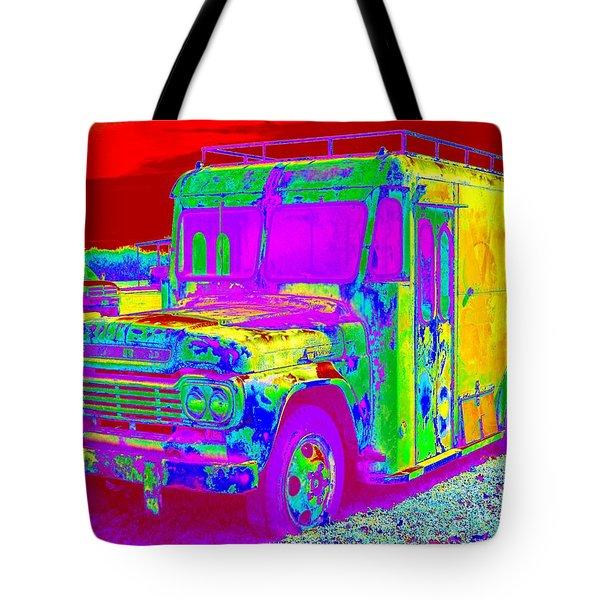 Motor City Pop #14 Tote Bag