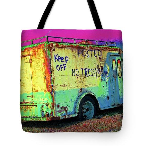 Motor City Pop #18 Tote Bag