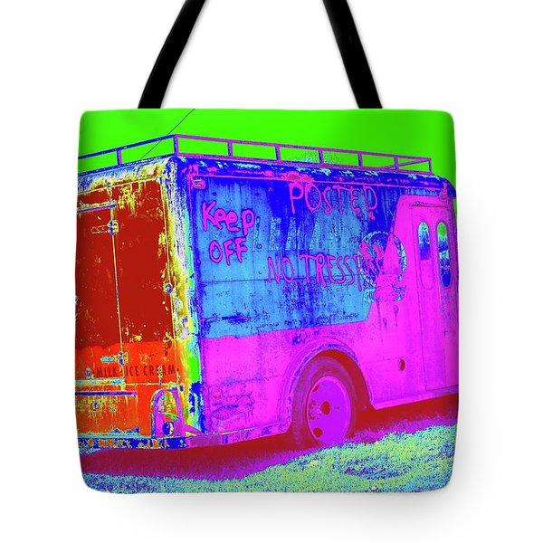 Motor City Pop #20 Tote Bag