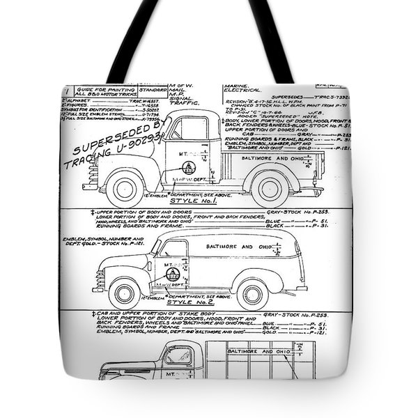 Motor Vehicles Tote Bag