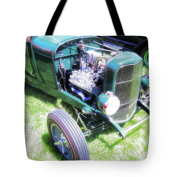 Motor Wheel Tote Bag
