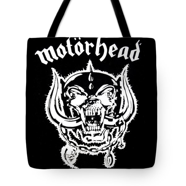 Motorhead Tote Bag by Gina Dsgn