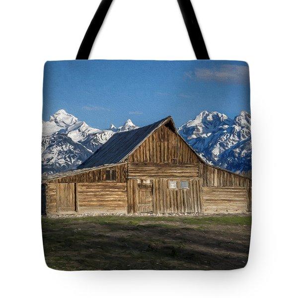 Moulton Barn Tote Bag