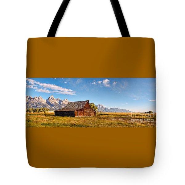 Moulton Barn Tote Bag by Sharon Seaward