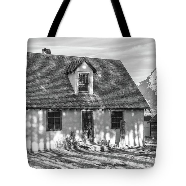 Tote Bag featuring the photograph Moulton Homestead - Pink House by Colleen Coccia