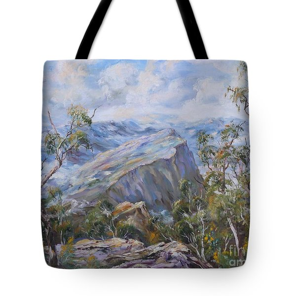 Mount Abrupt Grampians Victoria Tote Bag