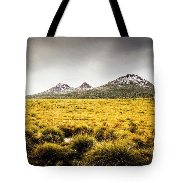 Mount Arrowsmith Tasmania Australia Tote Bag