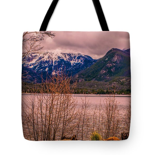 Mount Baldy From Point Park Tote Bag