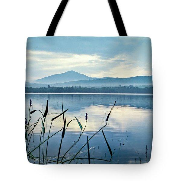 Mount Blue Tote Bag