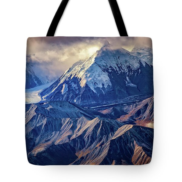 Mount Brooks From Above Tote Bag