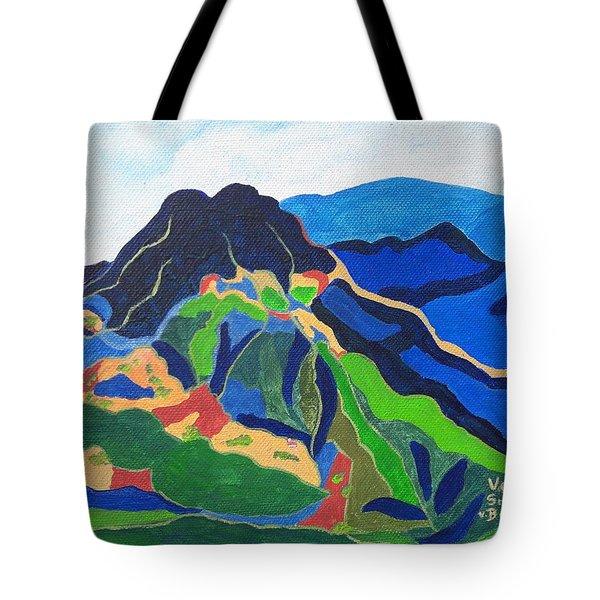 Mount Canigou Tote Bag