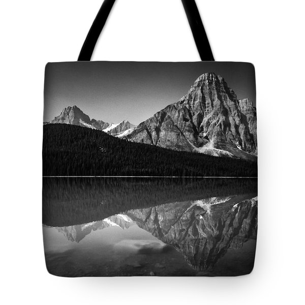 Mount Chephren Reflection Tote Bag