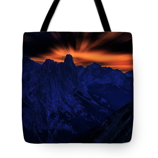Mount Doom Tote Bag