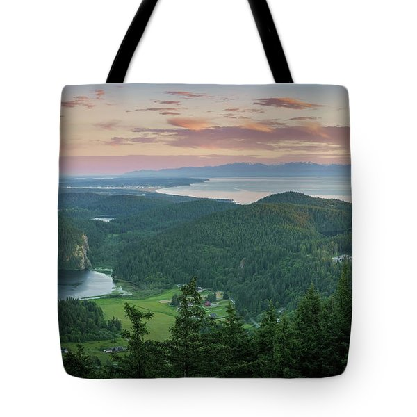 Mount Erie Viewpoint Tote Bag by Ken Stanback